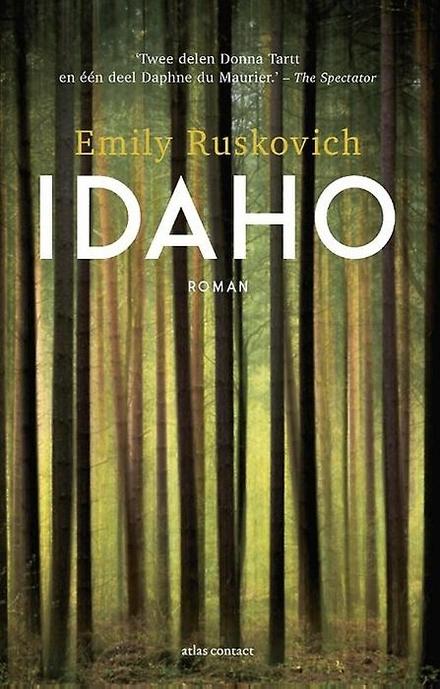Leestip foto van: Idaho : roman | Een boek van Emily Ruskovich