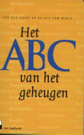 Het ABC van het geheugen : de vergeten woorden van de 20e eeuw