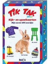 Tik Tak : Kijk en speelkaarten : Mijn eerste 100 woordjes