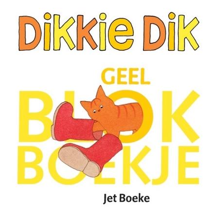 Dikkie Dik : geel blokboekje