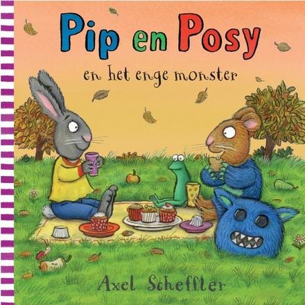 Pip en Posy en het enge monster