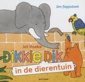 Dikkie Dik in de dierentuin : een flapjesboek