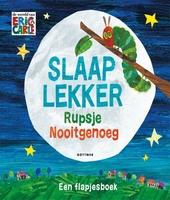 Slaap lekker Rupsje Nooitgenoeg : een flapjesboek