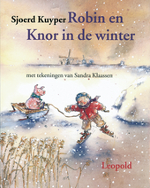 Robin en Knor in de winter