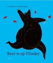 Beer is op Vlinder