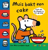 Muis bakt een cake