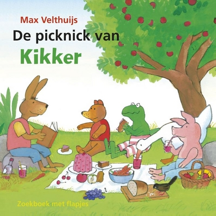 De picknick van kikker