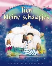 Tien kleine schaapjes : een vrolijk telboek rond kerst