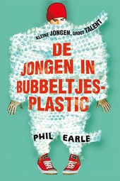 De jongen in bubbeltjesplastic
