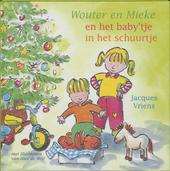 Wouter en Mieke en het baby'tje in het schuurtje