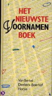 Het nieuwste voornamenboek
