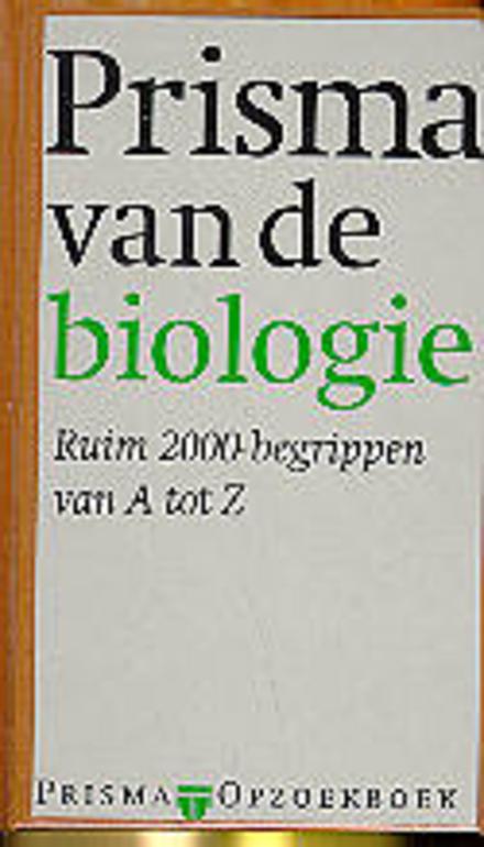 Prisma van de biologie