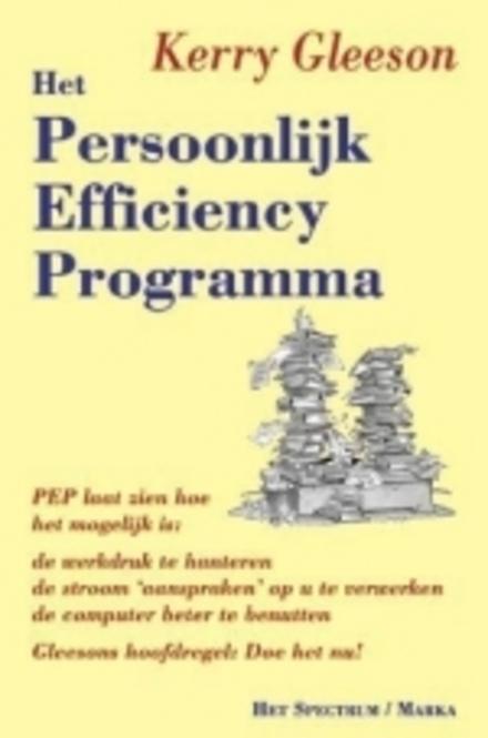 Het persoonlijk efficiency programma