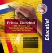 Prisma uittreksels : 220 uittreksels van Nederlandstalige literatuur vanaf 1200 tot heden