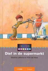 Dief in de supermarkt