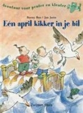 Eén april kikker in je bil