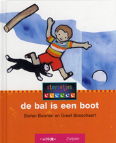 De bal is een boot