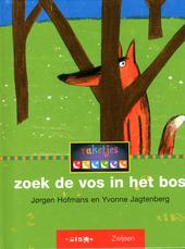 Zoek de vos in het bos