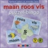 maan roos vis puzzel-bingo