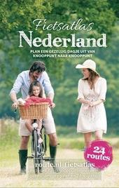 Fietsatlas Nederland : route.nl fietsatlas inclusief fietsknooppunten netwerk, plaatsnamenregister en 24 routetips