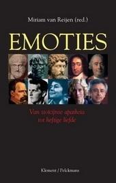 Emoties : van stoïcijnse apatheia tot heftige liefde