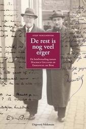 De rest is nog veel erger : de briefwisseling tussen Maurice Gilliams en Emmanuel de Bom