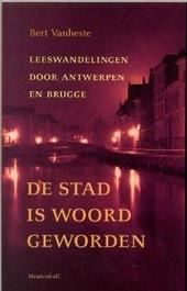 De stad is woord geworden : leeswandelingen door Antwerpen en Brugge