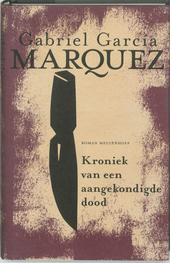 Kroniek van een aangekondigde dood : roman