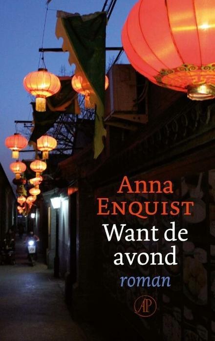 Want de avond : roman - Hoe gaan mensen om met de scherven van hun dromen?
