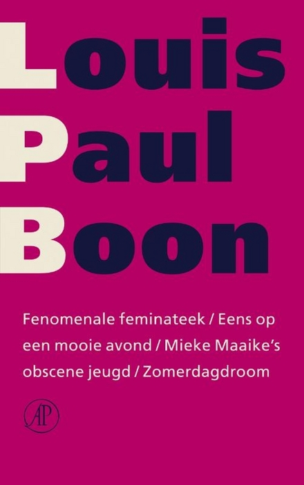 Fenomenale Feminateek ; Eens op een mooie avond ; Mieke Maaike's obscene jeugd ; Zomerdagdroom