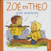 Zoé en Theo gaan wandelen