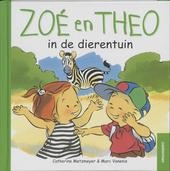 Zoé en Theo in de dierentuin