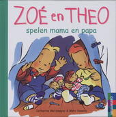 Zoé en Theo spelen mama en papa