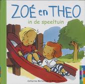 Zoé en Theo in de speeltuin