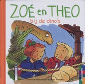 Zoé en Theo bij de dino's