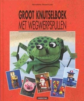 Groot knutselboek met wegwerpspullen