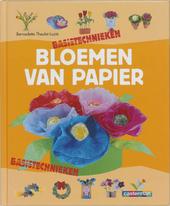 Bloemen van papier