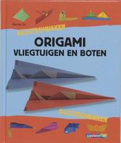 Origami : vliegtuigen en boten