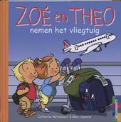 Zoé en Theo nemen het vliegtuig