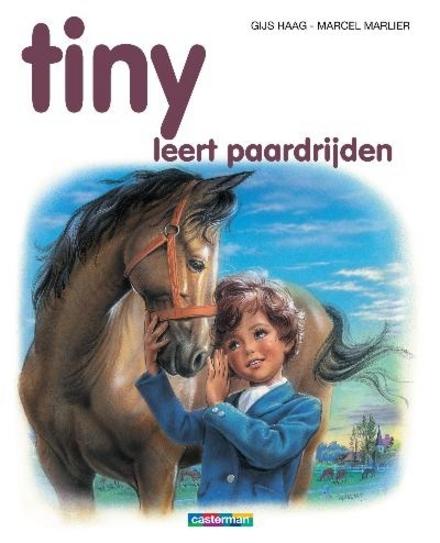 Tiny leert paardrijden