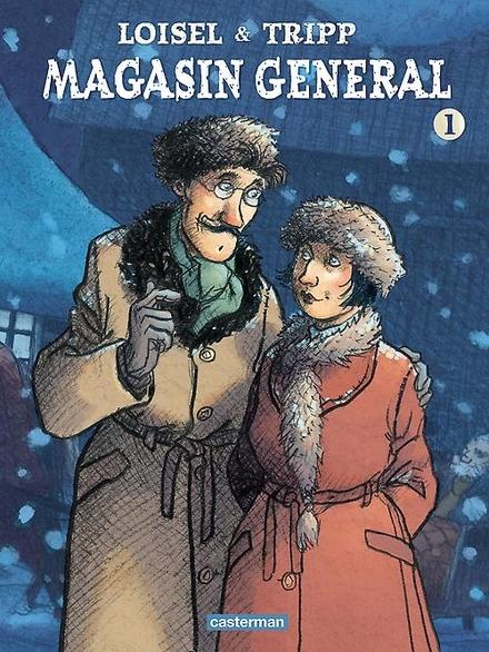 Magasin general. 1 - Wegdromen, de Canadese kou trotseren bij het haardvuur.