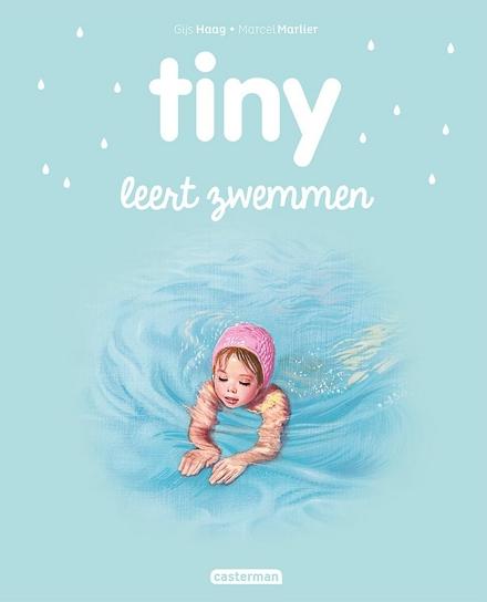 Tiny leert zwemmen