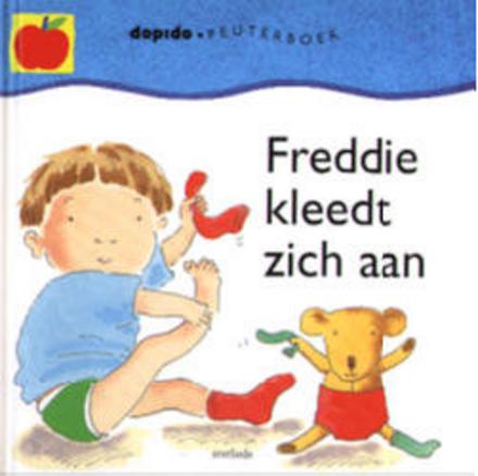 Freddie kleedt zich aan