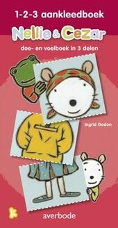 1-2-3 aankleedboek : doe- en voelboek in 3 delen