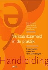 Verstaanbaarheid in de praktijk : lessenpakket sjwa-klank voor anderstaligen. Handleiding