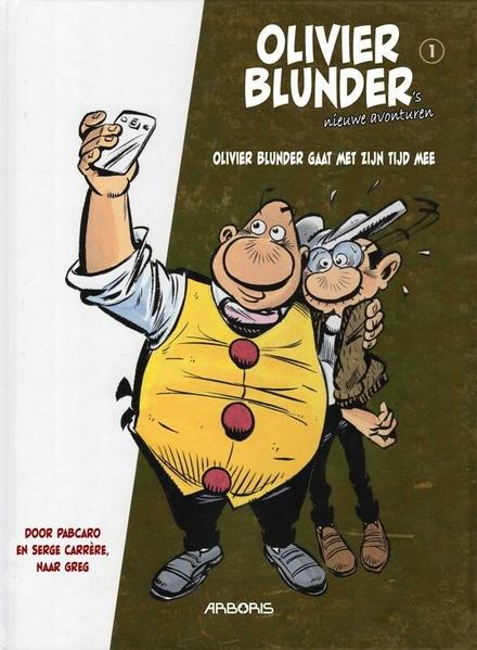 Olivier Blunder gaat met zijn tijd mee