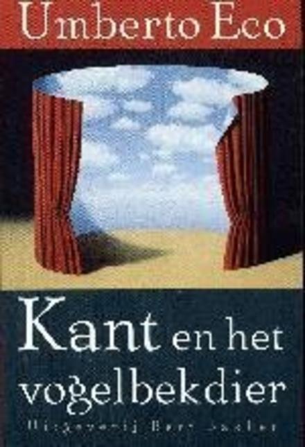 Kant en het vogelbekdier