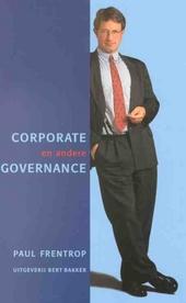Corporate en andere governance