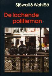 De lachende politieman