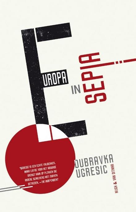 Europa in sepia - Een boek om bij stil te staan